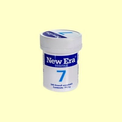 Sal de Schüssler Nº7 - Fosfato de Magnesio - 240 comprimidos - New Era