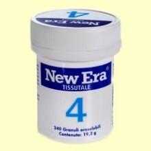 Sal de Schüssler Nº4 - Cloruro de Potasio - 240 comprimidos - New Era