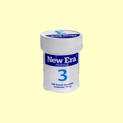 Sal de Schüssler Nº3 - Fosfato de Hierro - 240 comprimidos - New Era