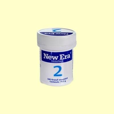 Sal de Schüssler Nº2 - Fosfato de Calcio - 240 comprimidos - New Era