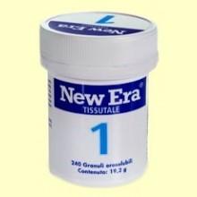 Sal de Schüssler Nº1 - Fluoruro de Calcio - 240 comprimidos - New Era