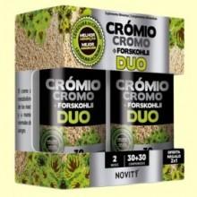 Cromo + Forskohlii Duo - 60 comprimidos - Novity