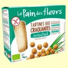 Pan Crujiente con Chufa Bio - 150 gramos - Le Pain des fleurs