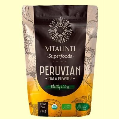 Maca Powder - Maca en Polvo Bio - 227 gramos - Vitalinti