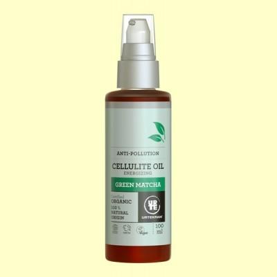 Aceite Anticelulítico Matcha Bio - 100 ml - Urtekram