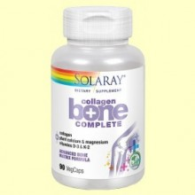 Collagen Bone Complete - 90 cápsulas vegetales - Solaray