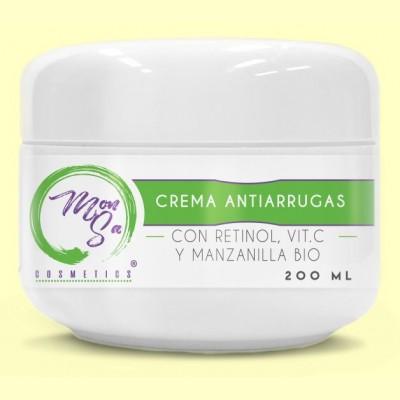 Crema Antiarrugas con Retinol - 200 ml - Mon Sa