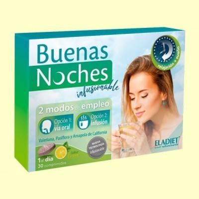 Buenas Noches Infusionable - 30 comprimidos - Eladiet
