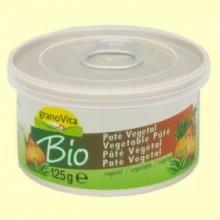 Paté Vegetal Bio - 125 gramos - Granovita