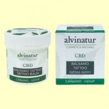 Bálsamo CBD Tattoo Bio - 100 ml - Alvinatur