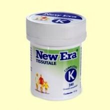 Complejo K de Schüssler - 240 comprimidos - New Era