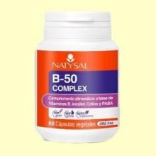 B50 Complex - 60 cápsulas - Natysal