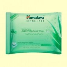 Toallitas Faciales de Aloe Vera - 25 unidades - Himalaya