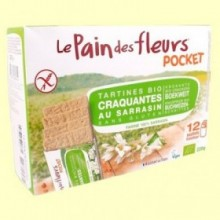 Pan de Flores Crujiente Pocket Bio - 220 gramos - Le Pain des fleurs