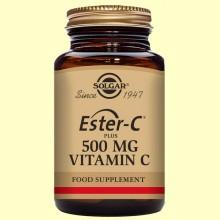 Ester C Plus 500 mg - Solgar - 50 cápsulas vegetales