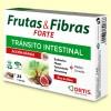 Frutas y Fibras Forte - Tránsito Intestinal - 24 cubos masticables - Ortis