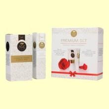 Crema de Noche y Contorno de Ojos - Age Protection Premium Set - 50 ml + 15 ml - Schüssler