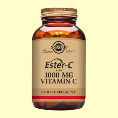 Ester C Plus 1000 mg - Vitamina C - 90 comprimidos - Solgar