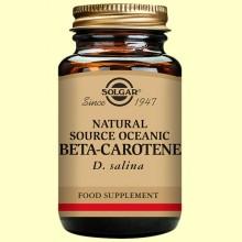 Beta Caroteno Oceánico 100% natural 60 cap. - Solgar