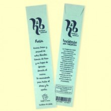 Rosa - Incienso Natural Sin Tóxicos - 10 varillas - H&B