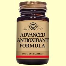 Formula Antioxidante Avanzada - 120 cápsulas vegetales - Solgar