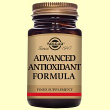 Formula Antioxidante Avanzada - 60 cápsulas vegetales - Solgar