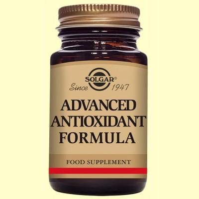 Formula Antioxidante Avanzada - 30 cápsulas vegetales - Solgar