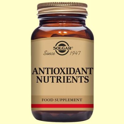 Nutrientes Antioxidantes 50 comprimidos de Solgar
