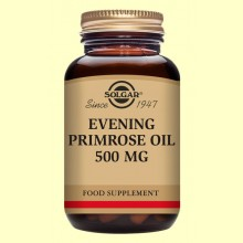 Aceite de Prímula de rosa - Solgar - 30 cápsulas blandas