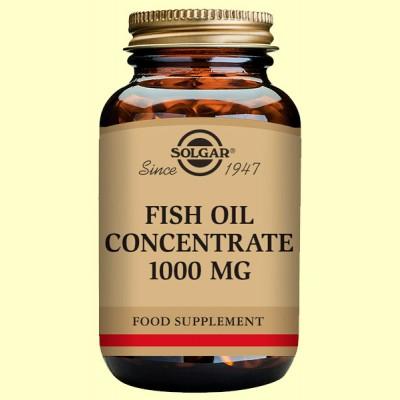 Aceite de Pescado concentrado 1000 mg - Solgar - 60 cápsulas