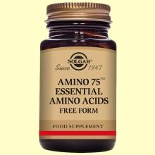 Amino 75 - Aminoácidos - Solgar - 30 cápsulas