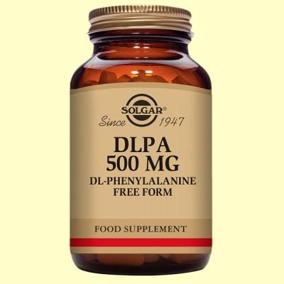 DLPA 500 mg - Aminoácidos - Solgar - 50 cápsulas