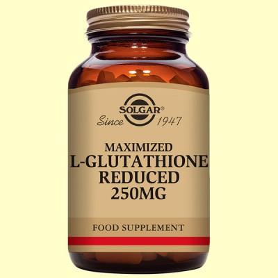 L-Glutatión Maximizado 250 mg - Aminoácidos - 60 cápsulas - Solgar