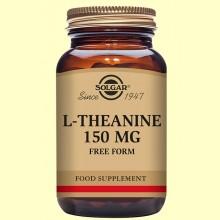 L-Teanina (L-Theanine) 150 mg - Aminoácidos - Solgar - 60 cápsulas