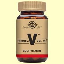Fórmula VM 75 (Uno al día) - Solgar - 60 comp.