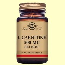 L-Carnitina 500 mg - 60 comprimidos - Solgar