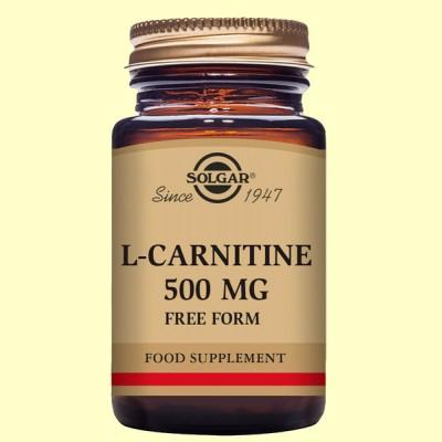 L-Carnitina 500 mg - 30 comprimidos - Solgar