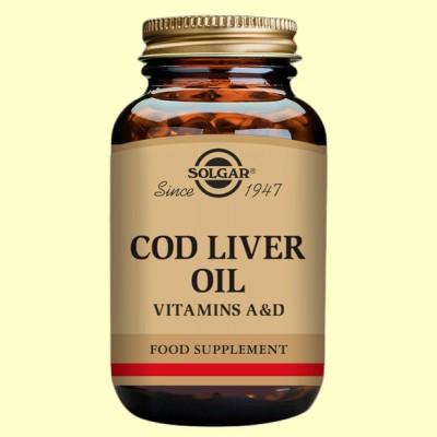 Aceite de Higado de Bacalao - 250 cápsulas - Solgar