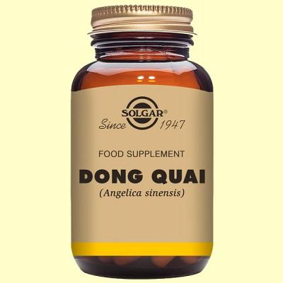 Dong Quai Máxima potencia - 100 cápsulas - Solgar