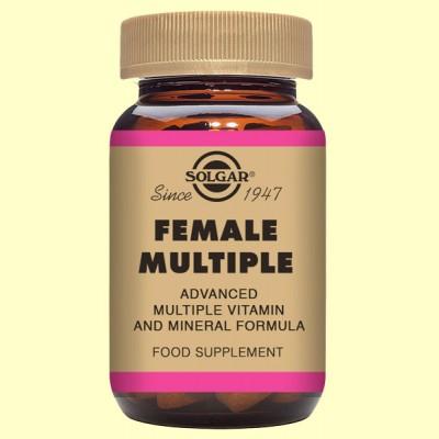 Female Múltiple - Complejo para la mujer - Solgar - 60 comp