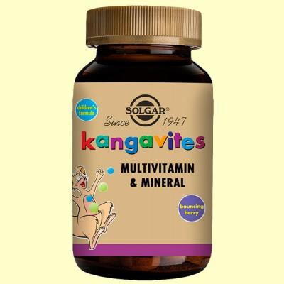Kangavites Frutas del bosque- Infantil - Solgar - 60 com.