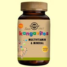 Kangavites Multitropical - 60 comprimidos masticables - Solgar