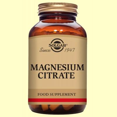 Citrato de Magnesio - Solgar - 60 comprimidos
