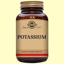 Potasio (como Gluconato) - 100 comprimidos - Solgar