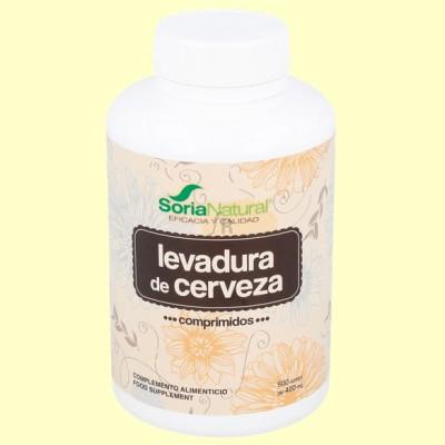 Levadura de cerveza - 500 comprimidos - Soria Natural