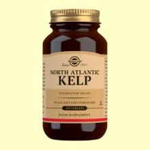 Kelp Yodo de fuente natural - Solgar - 250 comprimidos