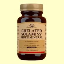 Multimineral Solamins - Solgar - 180 comprimidos