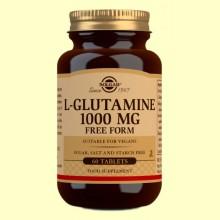 L-Glutamina 1000 mg - 60 comprimidos - Solgar