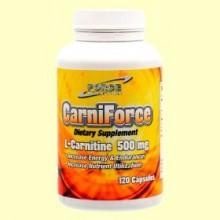 L-Carnitina - 120 cápsulas - Nutri Force