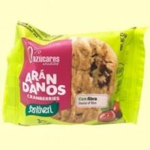 Galletas Arándanos Digestive 0% azúcares - 3 unidades - Santiveri